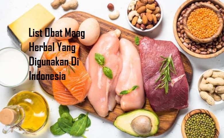 List Obat Maag Herbal Yang Digunakan Di Indonesia